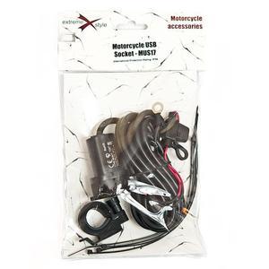 Gniazdo zapalniczki motocyklowej USB -MUS17 - 2849812867