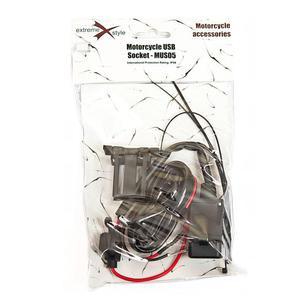 Gniazdo zapalniczki motocyklowej USB -MUS05 - 2849812869