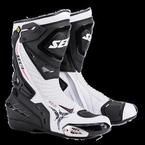 Sklep: sportowo turystyczne buty motocyklowe seca hyper white