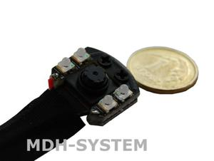 Mini kamera IP Wi-Fi do ukrycia, DZIEŃ NOC, wbudowane 4 diody IR, 1920x1080, 4 GB, MINI WI-FI Camera, P2P, akumulator 3000 mAh, IPIR - 2834611938