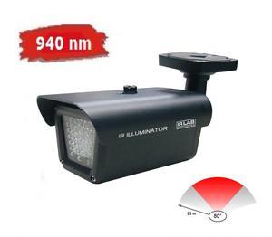Oświetlacz IR, reflektor, promiennik podczerwieni do kamer, zasięg max 23 m, kąt 80 stopni, 940 nm, podczerwień do kamer, IR LAB, LIR-CA32-940 - 2844969739