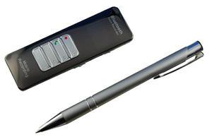 Dyktafon cyfrowy 8 GB z BLUETOOTH, nagrywanie rozmów z telefonu komórkowego, z telefonu stacjonarnego ,z otoczenia, zestaw głośnomówiący - 2823345172