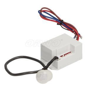 Czujnik ruchu PIR załączający oświetlenie z zewnętrznym sensorem, OR-CR-211 - 2823345286