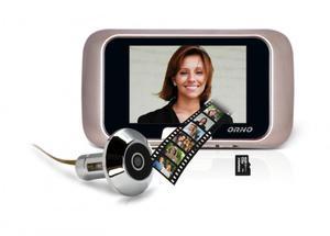 """Kamera do drzwi , WIZJER, JUDASZ, monitor LCD 2,8"""", zapis na karty micro SD, OR-WIZ-1101 - 2835832401"""