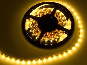 Listwa LED, 300 LED SMD, długość 5 m, barwa światła CIEPŁA BIAŁA, ZD-4 - 2823346827