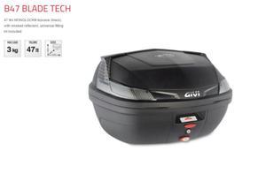 Kufer Centralny GIVI B47NTML BLADE TECH Monolock - 47 Litrów - 2876635587