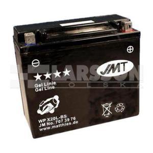 Akumulator żelowy JMT YTX20L-BS (WPX20L-BS) 1100312 Harley Davidson FLSTF 1600 - 2866046602