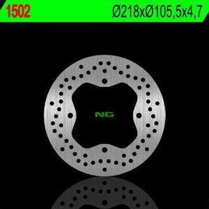 NG1502X TARCZA HAMULCOWA POLARIS SPORTSMAN 400/450/500/570/700/800, RANGER 400/500/570/700/800/900 (218X105,5X4,7) (4X10,5MM) - 2848007211