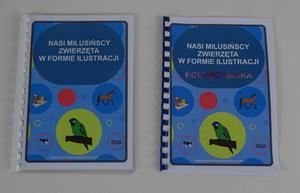 Nasi milusińscy zwierzęta w formie ilustracji - kolorowanka dla dzieci Nasi milusińscy zwierzęta w formie ilustracji z kolorowanką dla dzieci - 2842680169