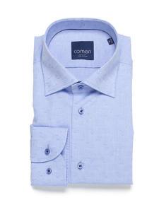 Koszula niebieska 100% bawełna - 2859703840