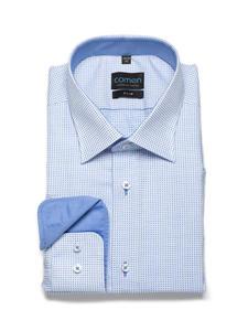Koszula w drobną kratkę - 2839146474