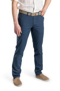 Niebieskie spodnie męskie slim - 2856450710