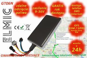 Samochodowy lokalizator GPS GSM ELMIC GT06N GPS tracker - 2827854366