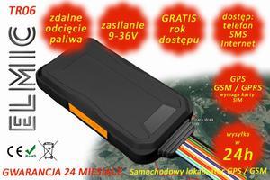 Samochodowy lokalizator GPS GSM ELMIC TR06 GPS tracker - 2827854367