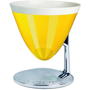 Casa Bugatti - UMA waga elektroniczna, żółta - 2832933036