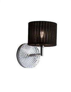 Kinkiet Fabbian DIAMOND Swirl D82 D01 02 black - 2665571292