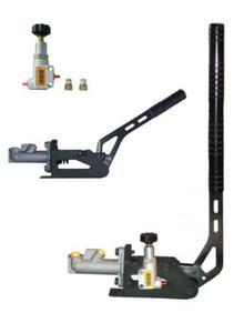 Hydrauliczny hamulec ręczny RRS Aluminiowy Poziomy / Pionowy +POMPA +KOREKTOR - 2827948874