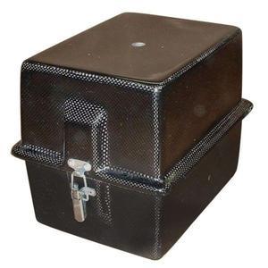 Karbonowy pojemnik na mały akumulator - 2827962355