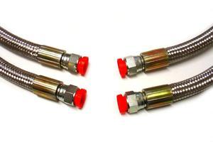 Przewód olejowy w oplocie Gates - 2 x końcówka prosta - 2827964806