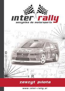 Zeszyt pilota inter-rally PRO - 2827965208