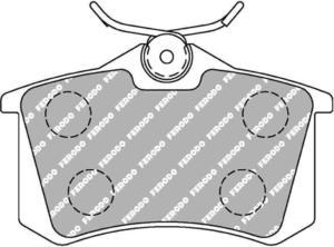 Klocki hamulcowe Ferodo DS3000 RENAULT Clio (III) 1.2 Przód