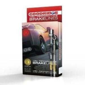 Przewody hamulcowe w oplocie Mercedes CLK - TME0900-4P