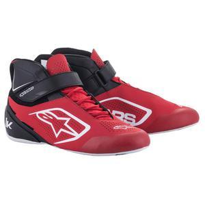 Buty Alpinestars Tech 1-K Kart - Czerwono / Biały