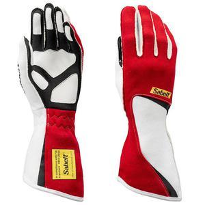 Rękawice Sabelt FG-300 FIA - Czerwony