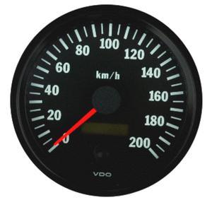 Prędkościomierz 0-200 km/h VDO VISION
