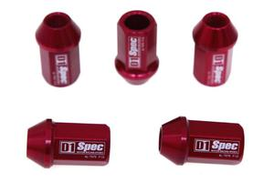 Kute nakrętki D1Spec - Czerwony