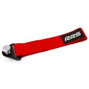 Hak holowniczy paskowy / taśmowy RRS - Czerwony