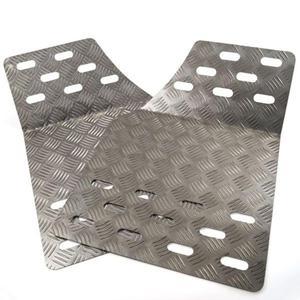 Zestaw kuwet / podstopnic aluminiowych RRS