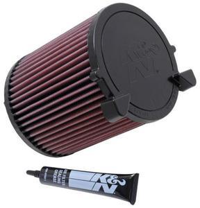 Filtr powietrza wk�adka K&N AUDI A3 1.4L - E-2014