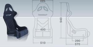 Fotel BIMARCO Futura - Czarny - 2827948315