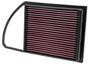 Filtr powietrza wkładka K&N CITROEN C3 II 1.6L Diesel - 33-2975