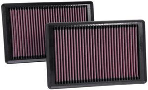 Filtr powietrza wkładka K&N JAGUAR XKR-S 5.0L - 33-2445