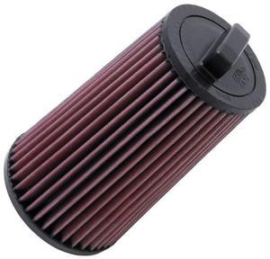 Filtr powietrza wkładka K&N MERCEDES BENZ CLC160 Kompressor 1.6L - E-2011