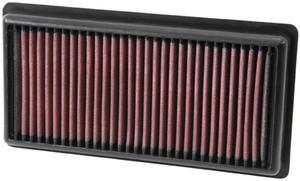 Filtr powietrza wk�adka K&N PEUGEOT 208 1.0L - 33-3006