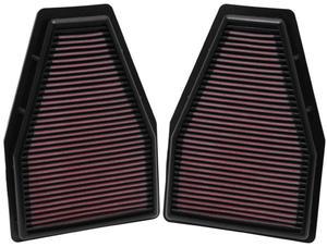 Filtr powietrza wkładka K&N PORSCHE 911 3.8L - 33-2484