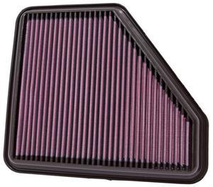Filtr powietrza wk�adka K&N TOYOTA Auris 2.0L Diesel - 33-2953