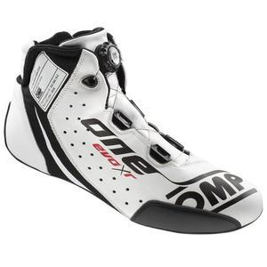 Buty OMP ONE EVO Formula R - Czarno / Biały