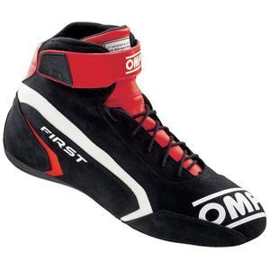 Buty OMP First Evo - Czarno / Czerwony