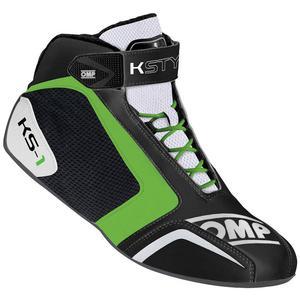 Buty kartingowe OMP KS-1 - Niebiesko / Granatowy - 2827998793
