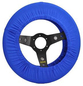 Pokrowiec na kierownicę (350mm) - Niebieski - 2827999364