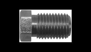 Metalowa końcówka męska przewodu hamulcowego - 3/8 krótka - 2835650515