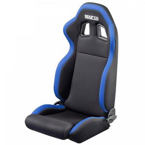 Fotel tuningowy Sparco R100 - Czarny - 2845083173
