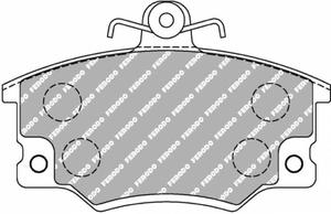 Klocki hamulcowe Ferodo Racing prz - 2860404381