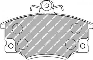 Klocki hamulcowe Ferodo Racing prz - 2860406408