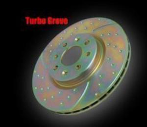 Tarcze hamulcowe EBC Turbo Groove Subaru Impreza 2.5 Turbo WRX STi 2006- Przód - 2823536942