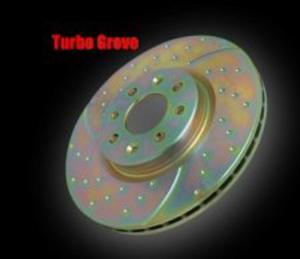 Tarcze hamulcowe EBC Turbo Groove Subaru Impreza 2.5 Turbo WRX 2006-2007 tył - 2823536950